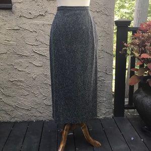 Max Mara wool blend vtg skirt